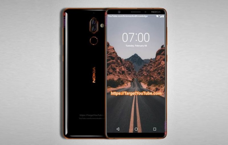 Nokia 7 Plus z Chin