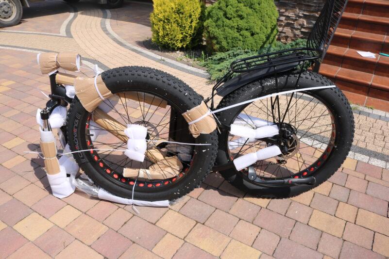 Rower z Chin